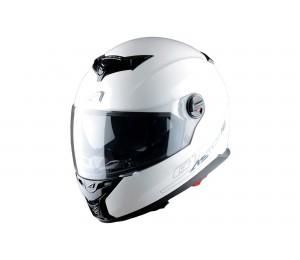Шлем ASTON GT 800 SOLID, белый глянцевый