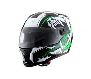 Шлем ASTON GT GEX-ROAK, зеленый