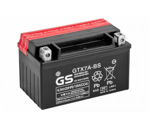 Аккумулятор 12В/6.3Ач (GTX7A-BS)